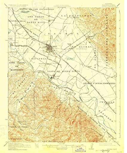 YellowMaps Salinas CA topo map, 1:62500 Scale, 15 X 15 Minute,