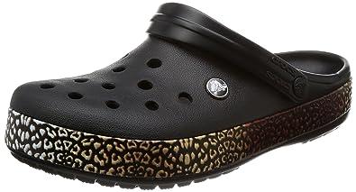 Crocs Unisex-Erwachsene Crocband Clogs, Gr.-38/39 EU, Weiß (Weiß 100)