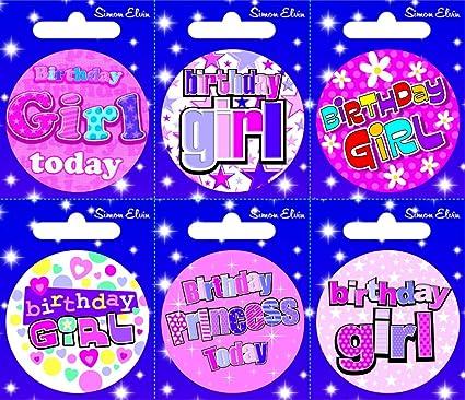 CREATIVE Insignia 6 Tarjeta del feliz cumpleaños Cumpleaños ...