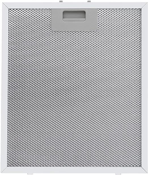 Klarstein 2 x Filtro de aluminio para grasa 26 x 37 cm Recambio: Amazon.es: Hogar
