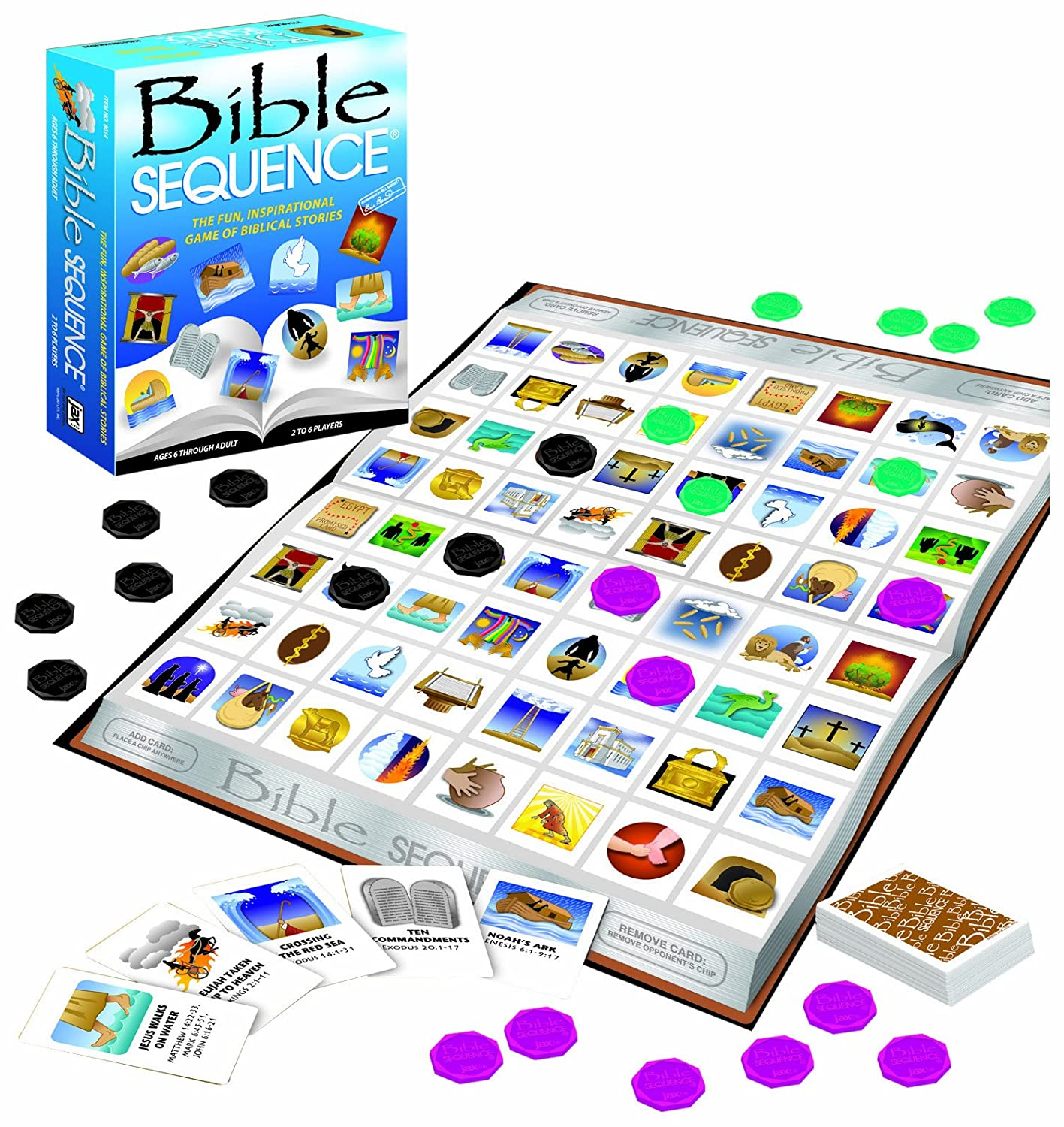 Bible Sequence by Jax: Amazon.es: Juguetes y juegos