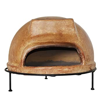 rustic woodburning outdoor pizza oven including a rustic pizza peel ember rake