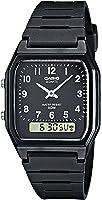 Casio Collection – Herren-Armbanduhr mit Analog/Digital-Display und Resin-Armband – AW-48H