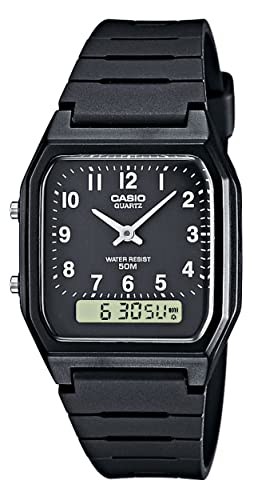 ffc0e9b0aa5 Montre Femme Casio Collection AW-48H-1BVEF  Amazon.fr  Montres
