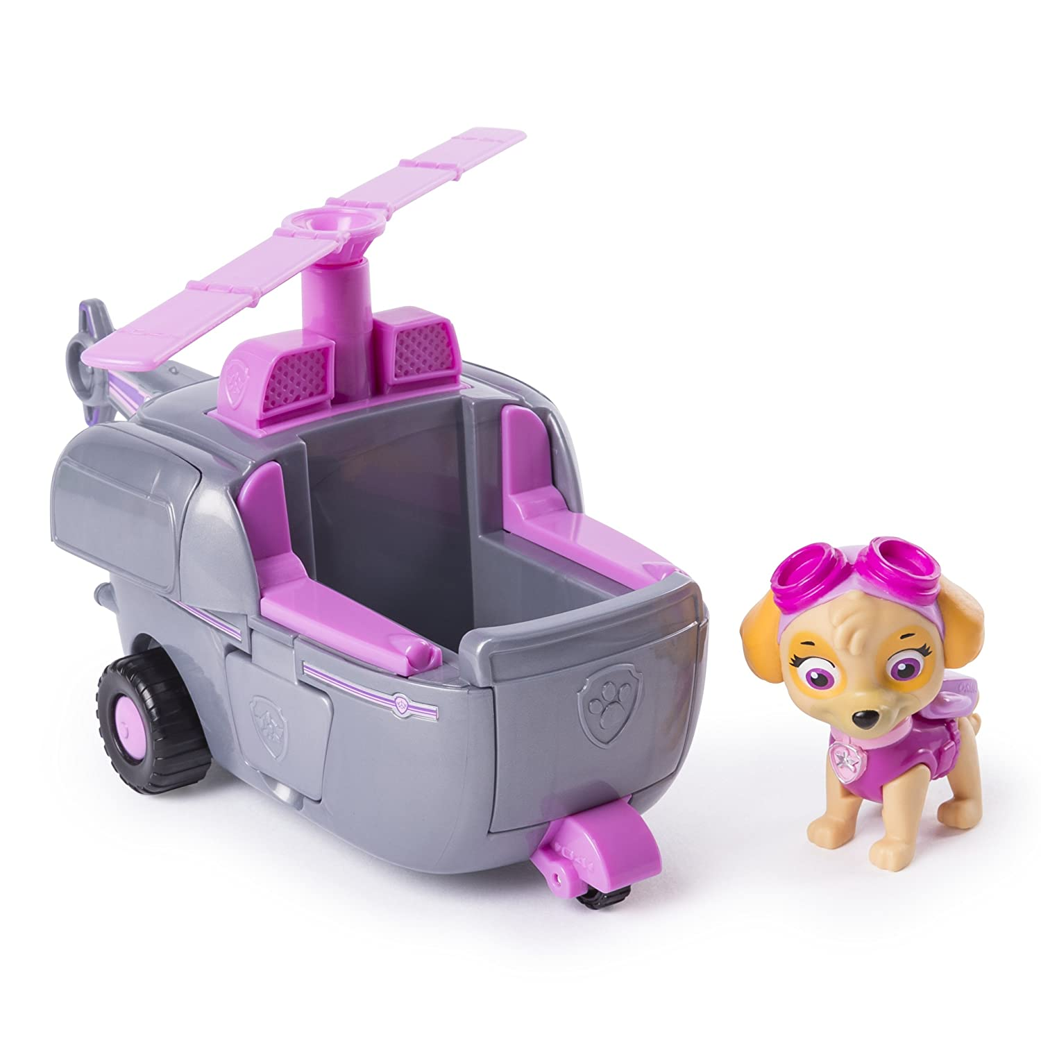 Paw Patrol Skye s Transforming Helicopter with Flip-open Turbines  for Ages 3 and Up