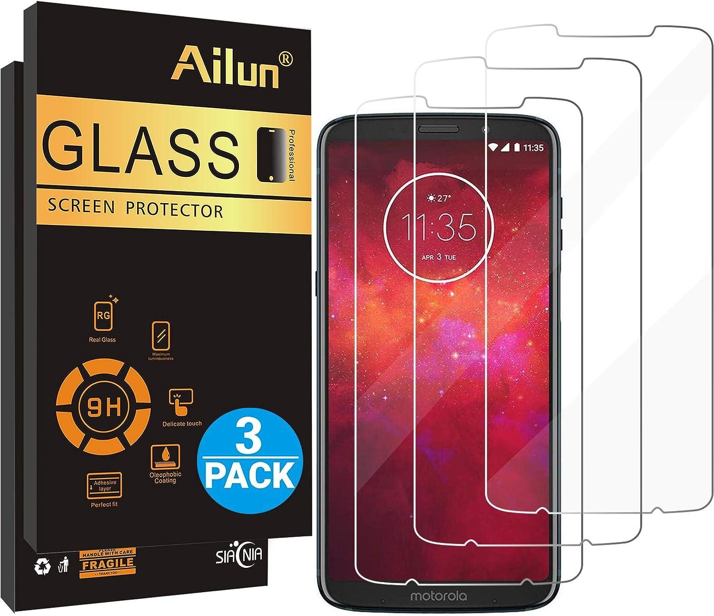 Protector de pantalla Ailun Compatible Moto  Z3 Play