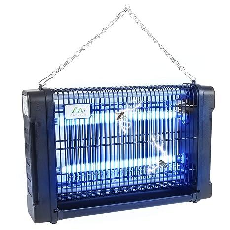 Gardigo - Lampara Matamoscas Electrico; Luz Ultravioleta UV 16 W Anti-Polillas, Insectos, Zancudos, Moscas y mas; Lampara Trampa Anti-Mosquitos; ...