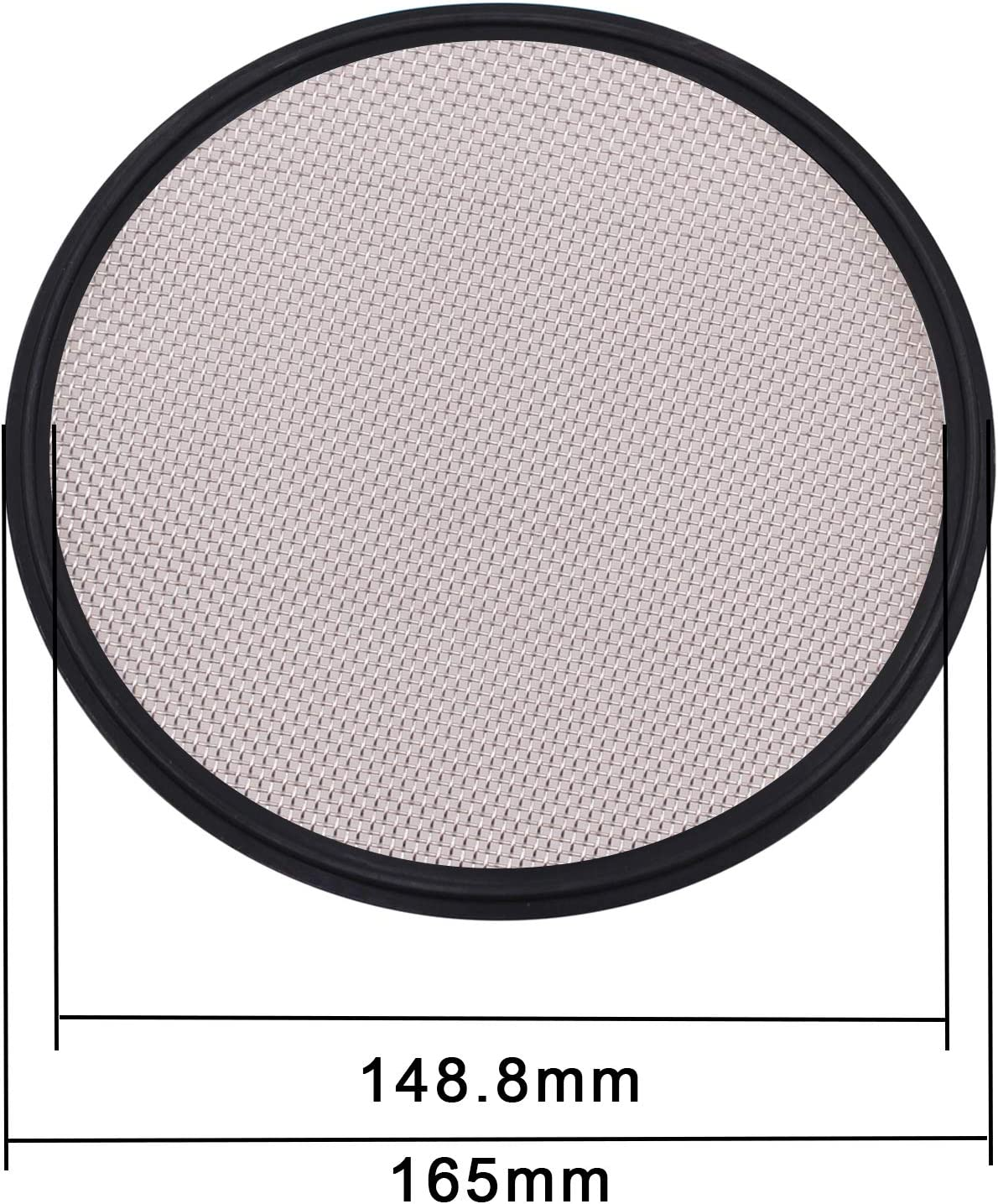 Tri Clamp Clover DERNORD 6 Sanitary Gasket Viton w//Stainless Screen 40 Mesh