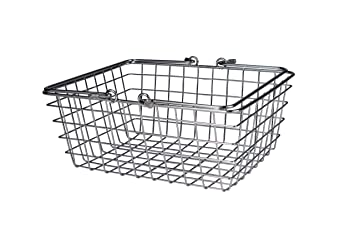 Good Spectrum Diversified Wire Storage Basket, Medium, Chrome
