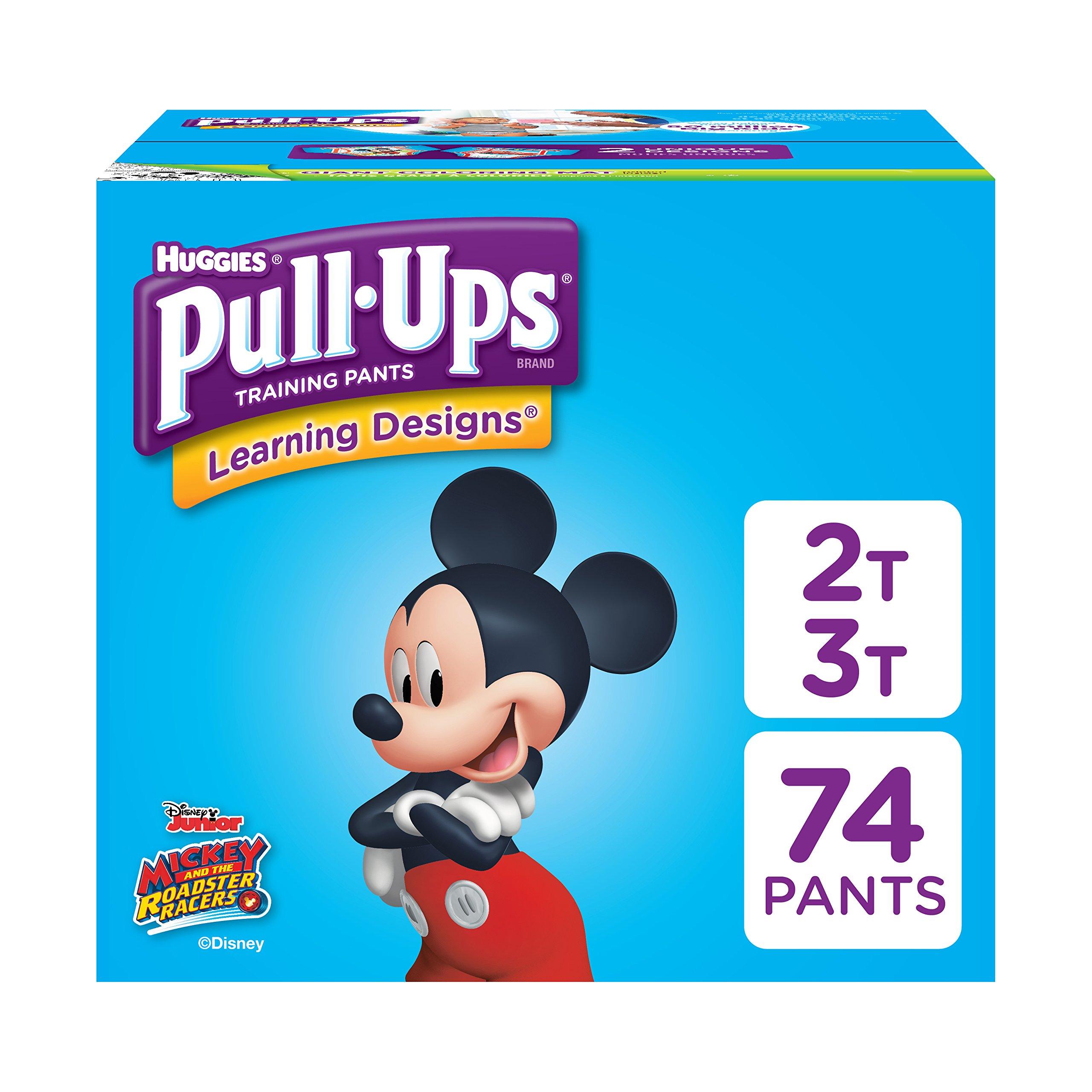 Amazon Com Pull Ups Training Pants For Boys Size 2t 3t
