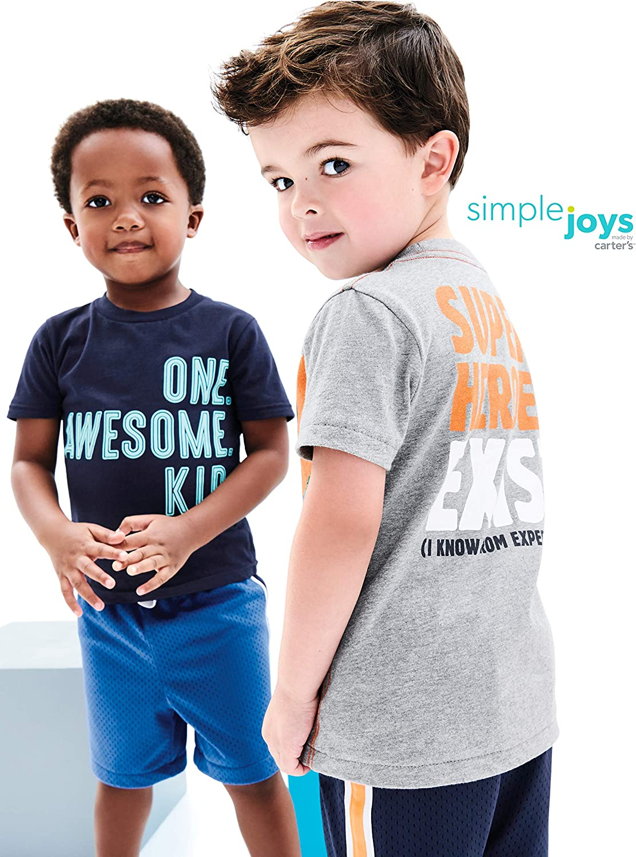 Paquete de 3 Peleles Snap-up Simple Joys by Carters Baby Boys