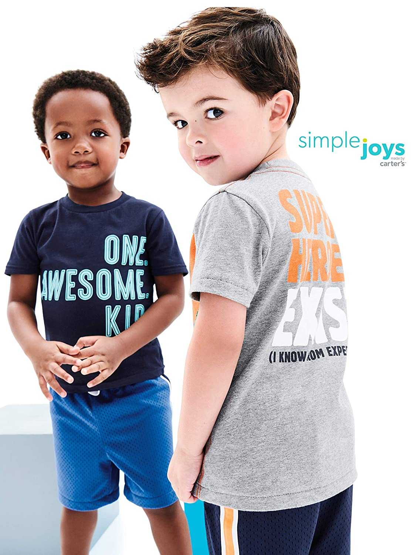 Private Label 3PKMESHSHORT Simple Joys by Carters Toddler Boys 3-Pack Mesh Shorts Carter/'s Simple Joys