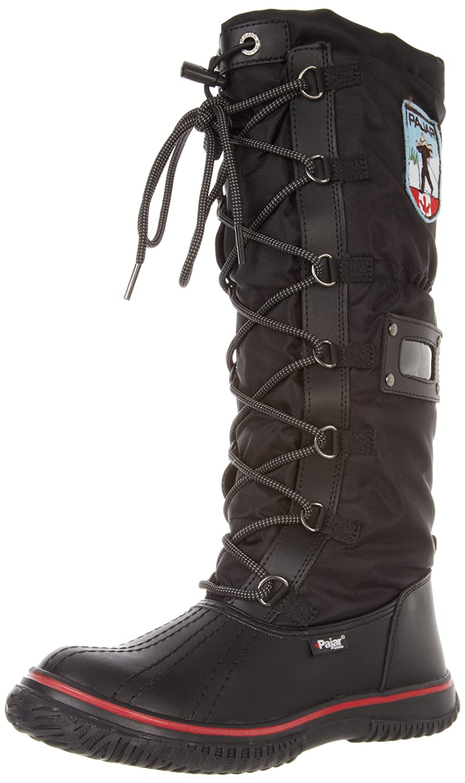Pajar Women's Grip Boot B000WY7F3E 37 EU (US Women's 6-6.5 M)|Black/Black
