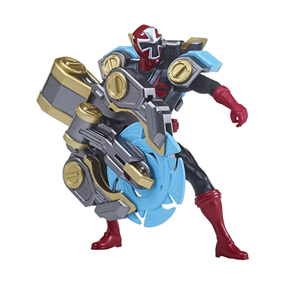 Power Rangers 43676 Ranger Super Ninja Steel Assault Toy ...