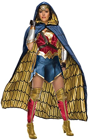 Womens Grand Heritage Wonder Woman Fancy Dress Costume Small ...