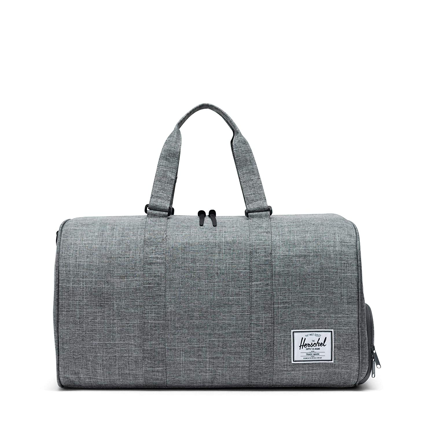 be6a6f755 Amazon.com | Herschel Novel Duffle Bag, Raven Crosshatch, One Size | Travel  Duffels