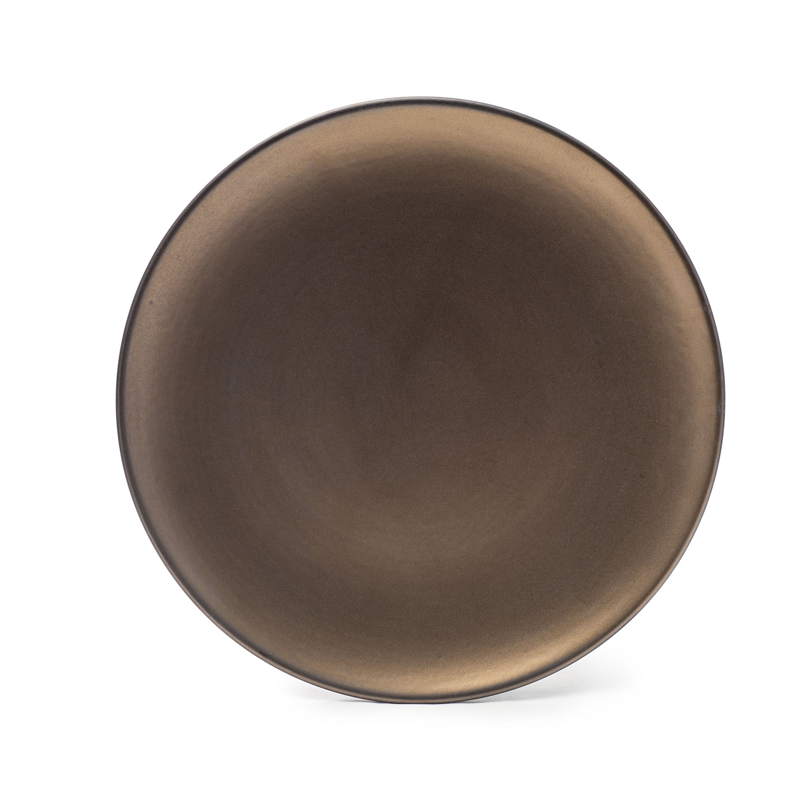 Tablescapes ME52957-16PC 16 Piece Teton Dinnerware Set, Rubbed Gold by Tablescapes (Image #5)