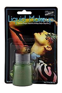 Mehron Makeup Liquid Face & Body Paint (1 ounce) (Green)