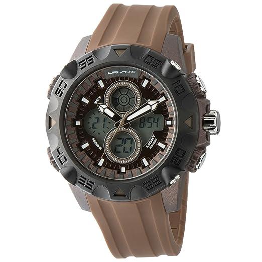 3 opinioni per UPhasE UP701-130- Orologio da polso analogico-digitale con cronografo al quarzo