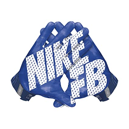 new concept 5dd85 1cbf2 Image Unavailable. Image not available for. Color  Men s Nike Vapor Jet 3.0  Football Gloves Game Royal Gym Blue White Size Large
