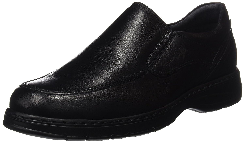 Fluchos- Retail ES Spain 9144, Zapatos Sin Cordones Hombre 45 EU|Negro (Black)