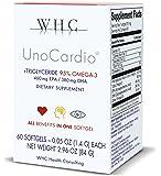 WHC UnoCardio 95% Omega-3 Fish oil - 60 Softgels