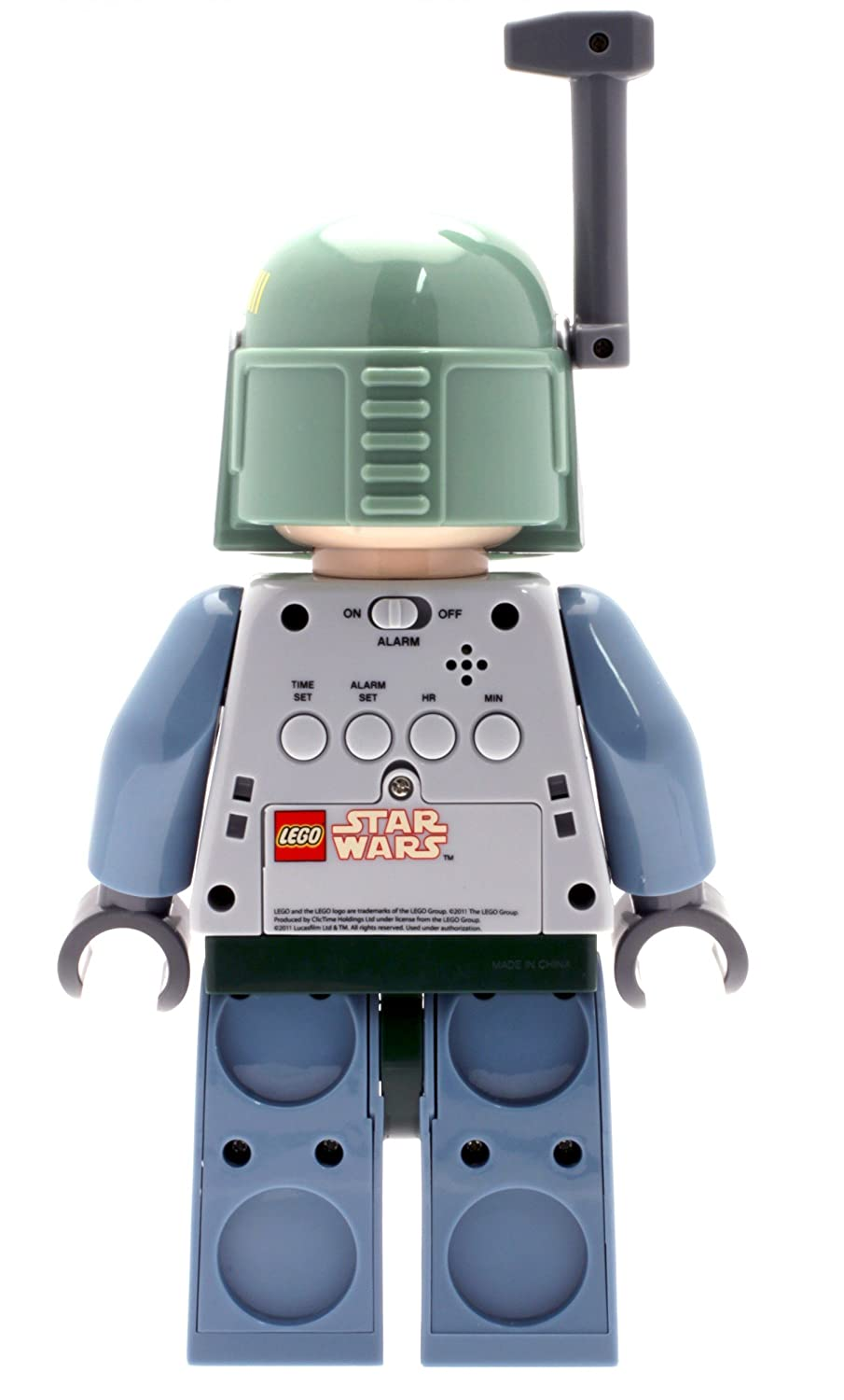 Lego Star Wars 9003530 Boba Fett Kids Minifigure Light Up Alarm