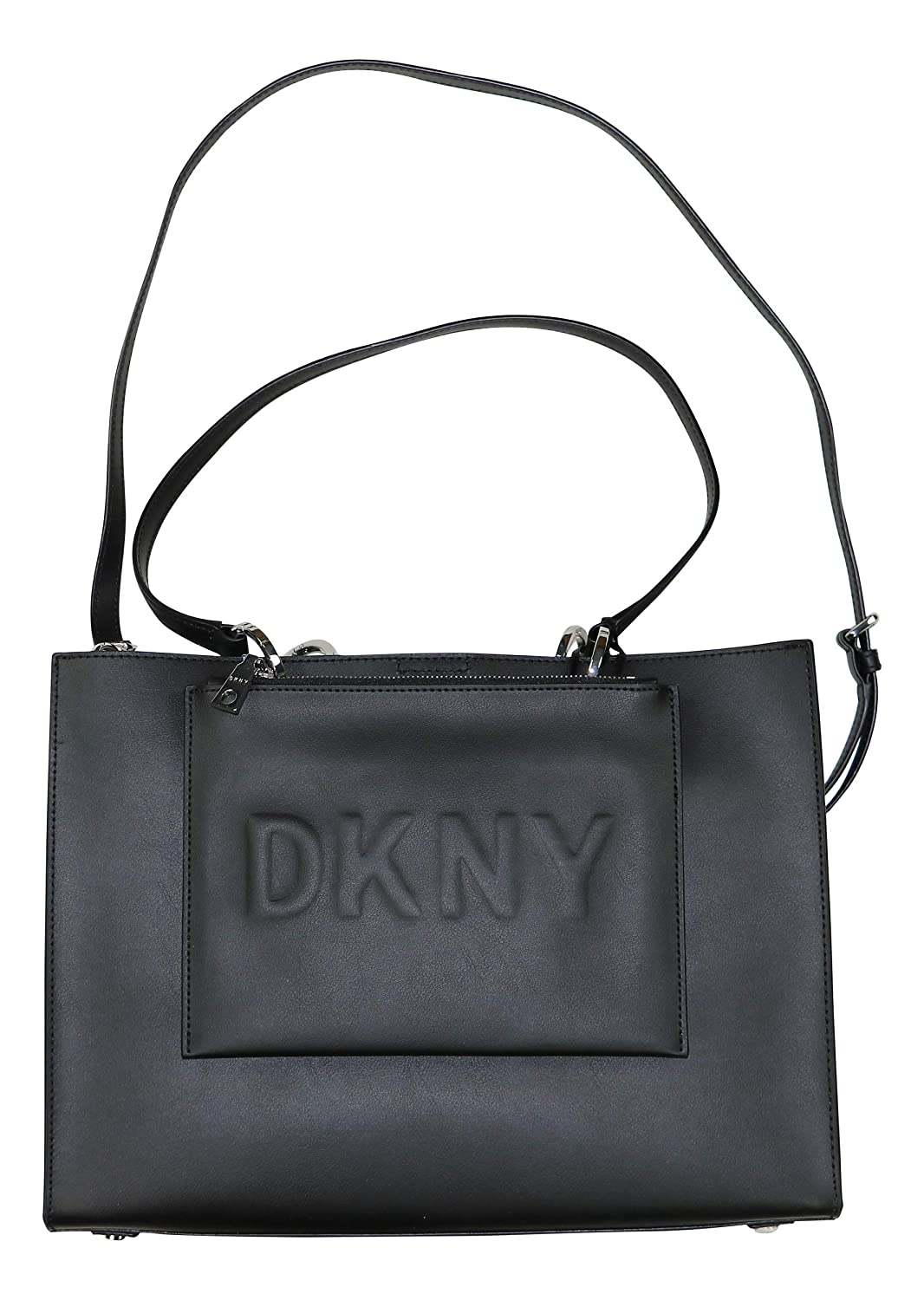 DKNY Mott Genuine Leather Large Tote Bag: Amazon.es: Ropa y ...