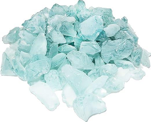 1//4 LB  cobalt DARK BLUE SEAGLASS SEA GLASS SEASHELL WEDDINGS CRAFTS AND MORE
