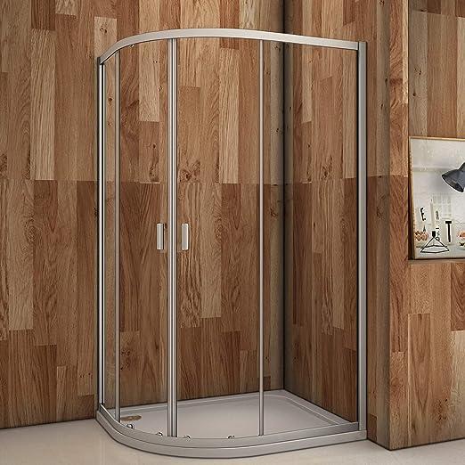 Cuadrante doble puerta corredera 6 mm cristal de seguridad ...