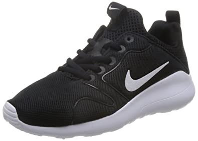 quality design 6bd4d a90f5 Nike Women s Kaishi 2.0 Black White Running Shoe 6 Women US