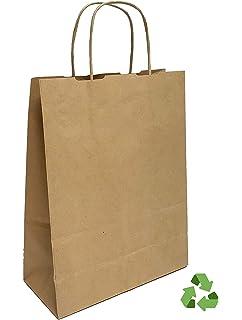 Bolsas de Papel con Asas.: Amazon.es: Hogar