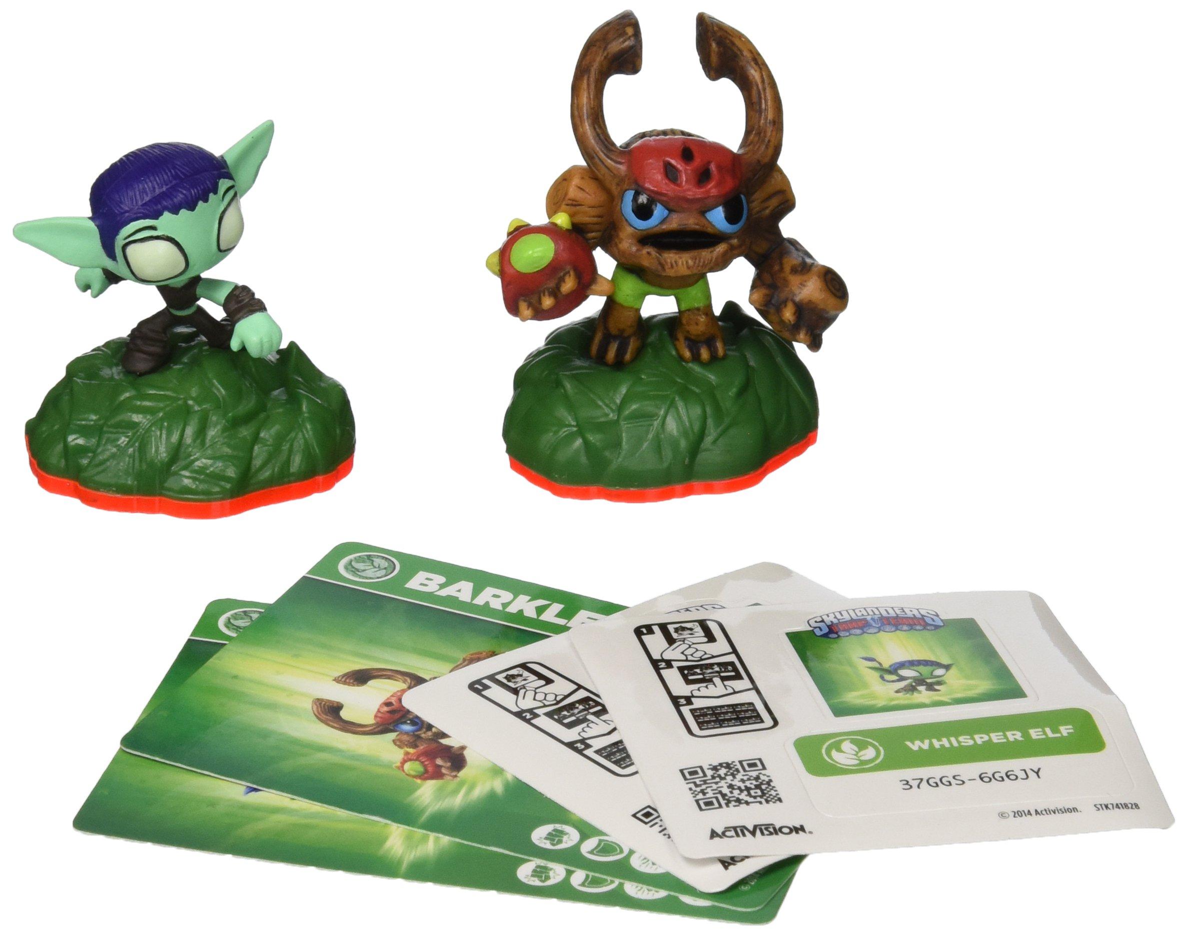 Skylanders Trap Team: Whisper Elf & Barkley - Mini Character 2 Pack