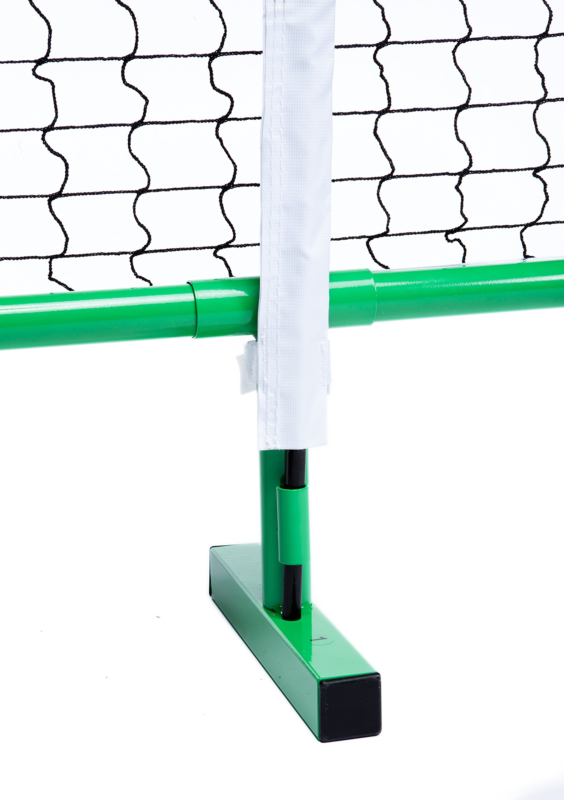Pickle-Ball, Inc. Pickleball Diller Tournament Net Set (Set Includes Metal Frame + Net + 4 paddles + 4 balls + Rules Sheet in Carry Bag) by Pickle-Ball (Image #2)