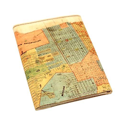 vintage 1890 san francisco map tri fold wallet