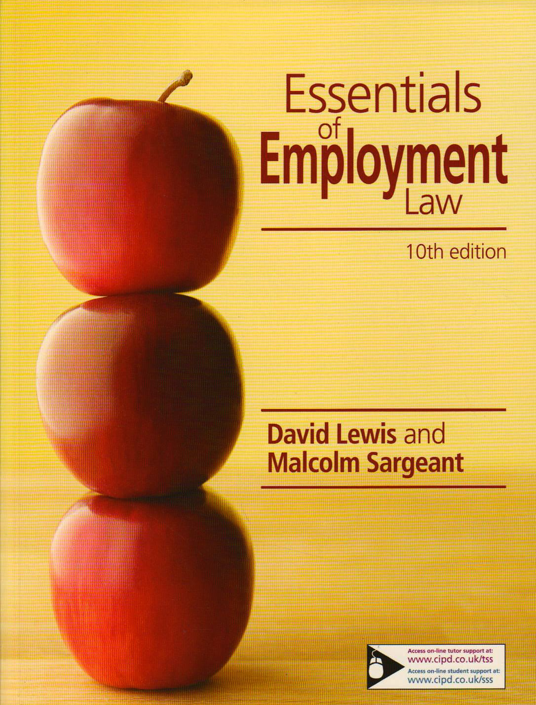 Essentials Of Employment Law: David Lewis, Malcolm Sargeant: 9781843982319:  Amazon: Books