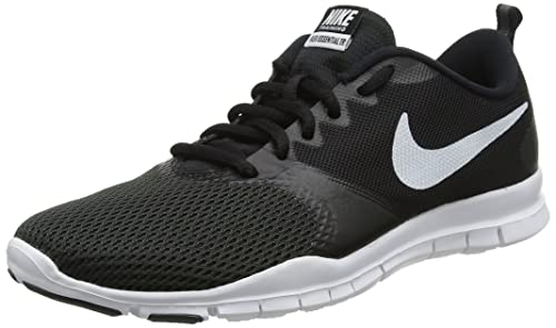 Nike Wmns Flex Essential TR, Scarpe Sportive Indoor Donna, Bianco (Pure Platinum/Wolf Grey/Igloo 003), 40.5 EU