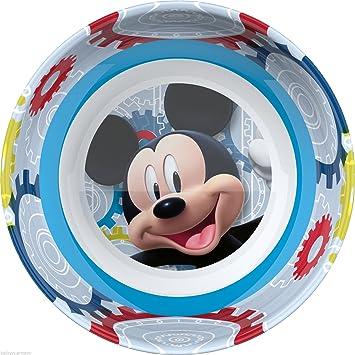 Mickey Mouse Disney Niños Personajes Plástico Melamina Cena Bowl - Picnic Pack-Lunch Niños: Amazon.es: Juguetes y juegos