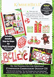 Kimberbell Oh the Possibilities for Christmas pattern cd, Multi
