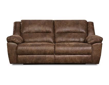 Delicieux Simmons Upholstery Phoenix Mocha Double Motion Sofa