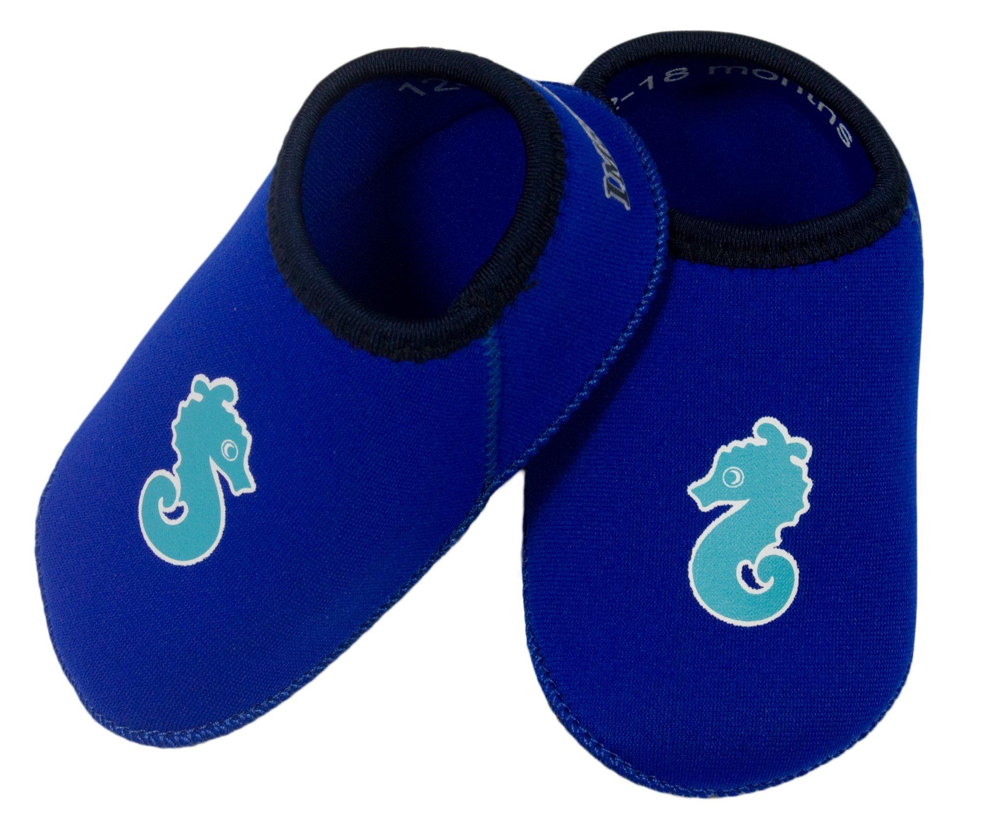 Adidas Akwah 7 Baby Badeschuhe Gr.23 blau Sandalen Kinderschuhe Wasserschuhe