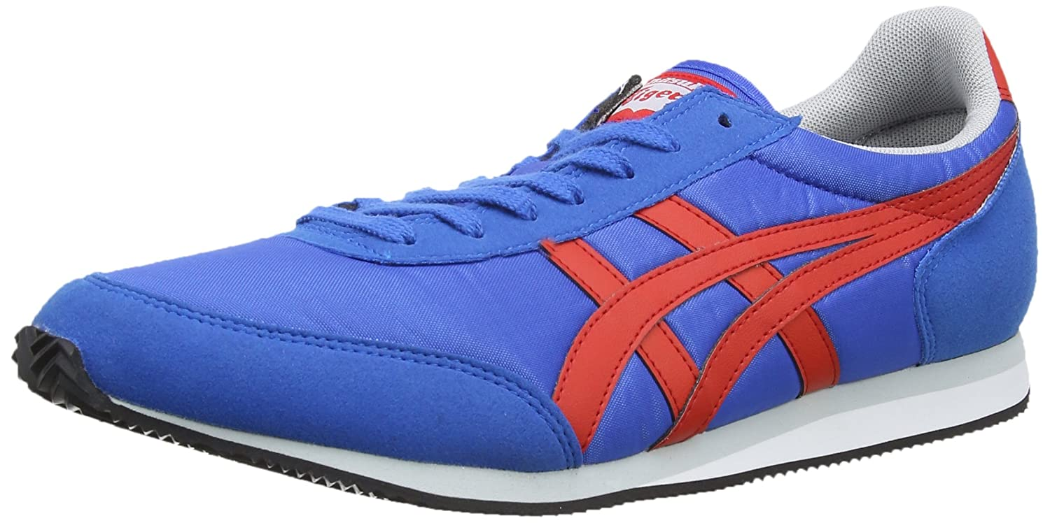 Asics Onitsuka Tiger Sakurada, Zapatillas Unisex Adulto 39 EU|Azul (Blue/Red 4223)
