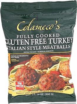 Colameco's Gluten-free 14-oz Frozen Meatballs