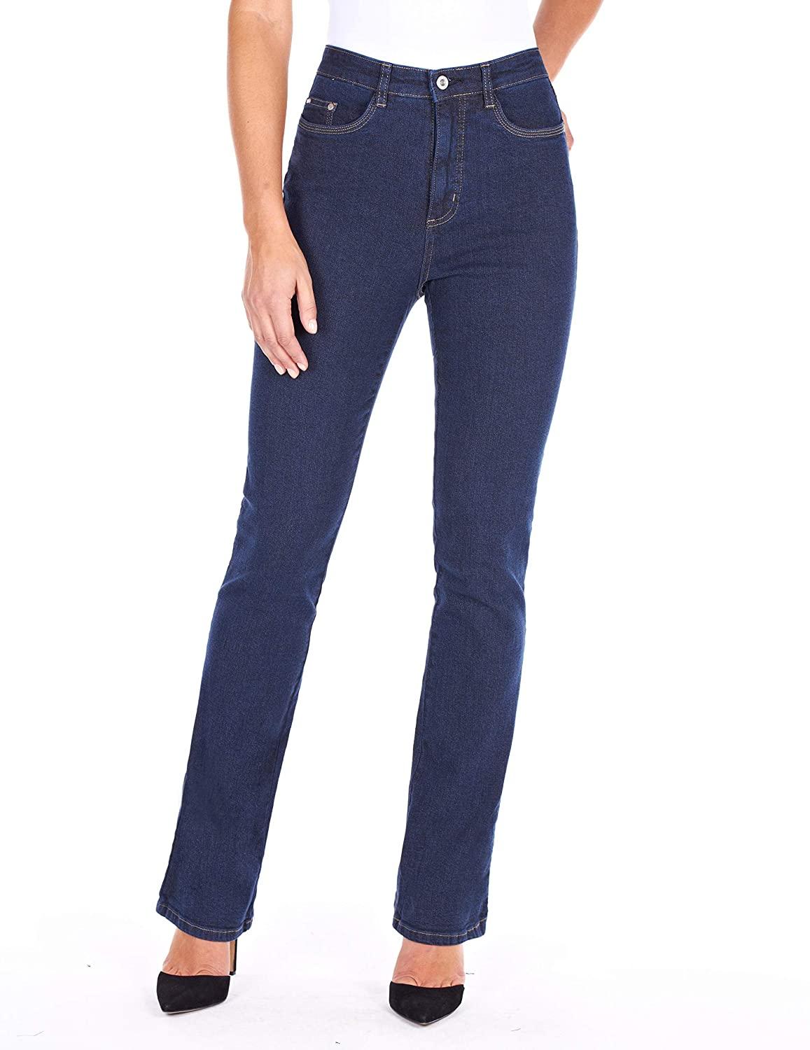 French Dressing Jeans FDJ Peggy Boot Cut 5 Pocket Jeans Style# 6224002