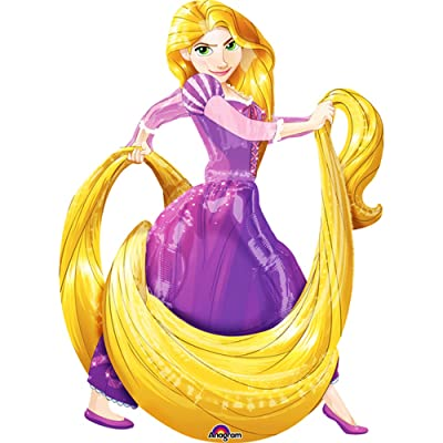 Rapunzel Air Walker Balloon: Toys & Games