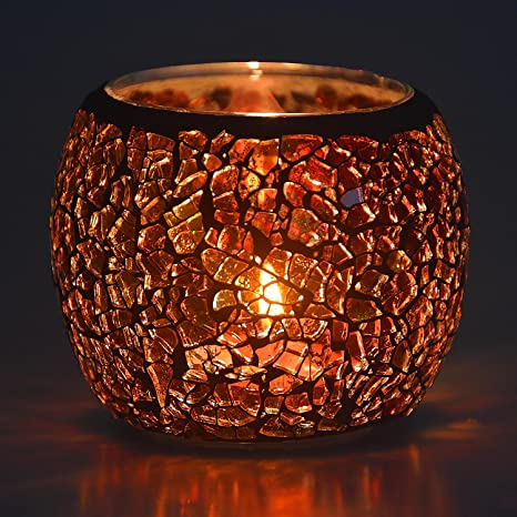 romantic gift Shabby candleholder romantic decor rustic glass candleholder decor pressed flowers candleholder