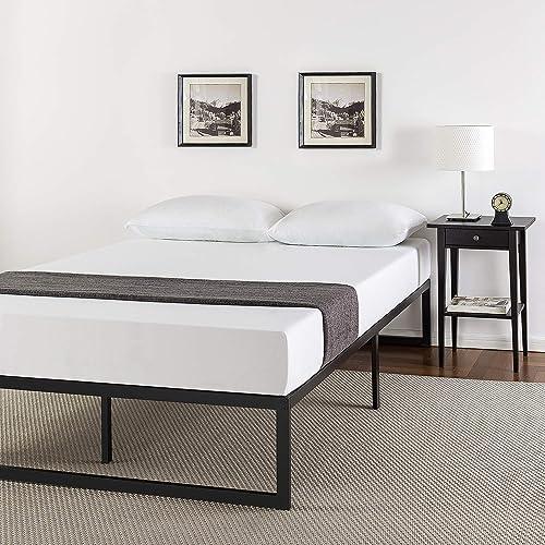 Metal platform bed frame king Zinus Abel 14 Inch