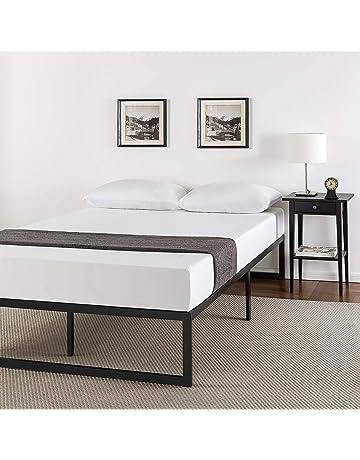 835d7c18ddc Zinus Abel 14 Inch Metal Platform Bed Frame with Steel Slat Support