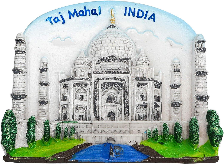 zamonji Sambar Indien Inde Aimant de r/éfrig/érateur en r/ésine 3D Souvenir de Voyage c/él/èbre dans Le Monde Entier