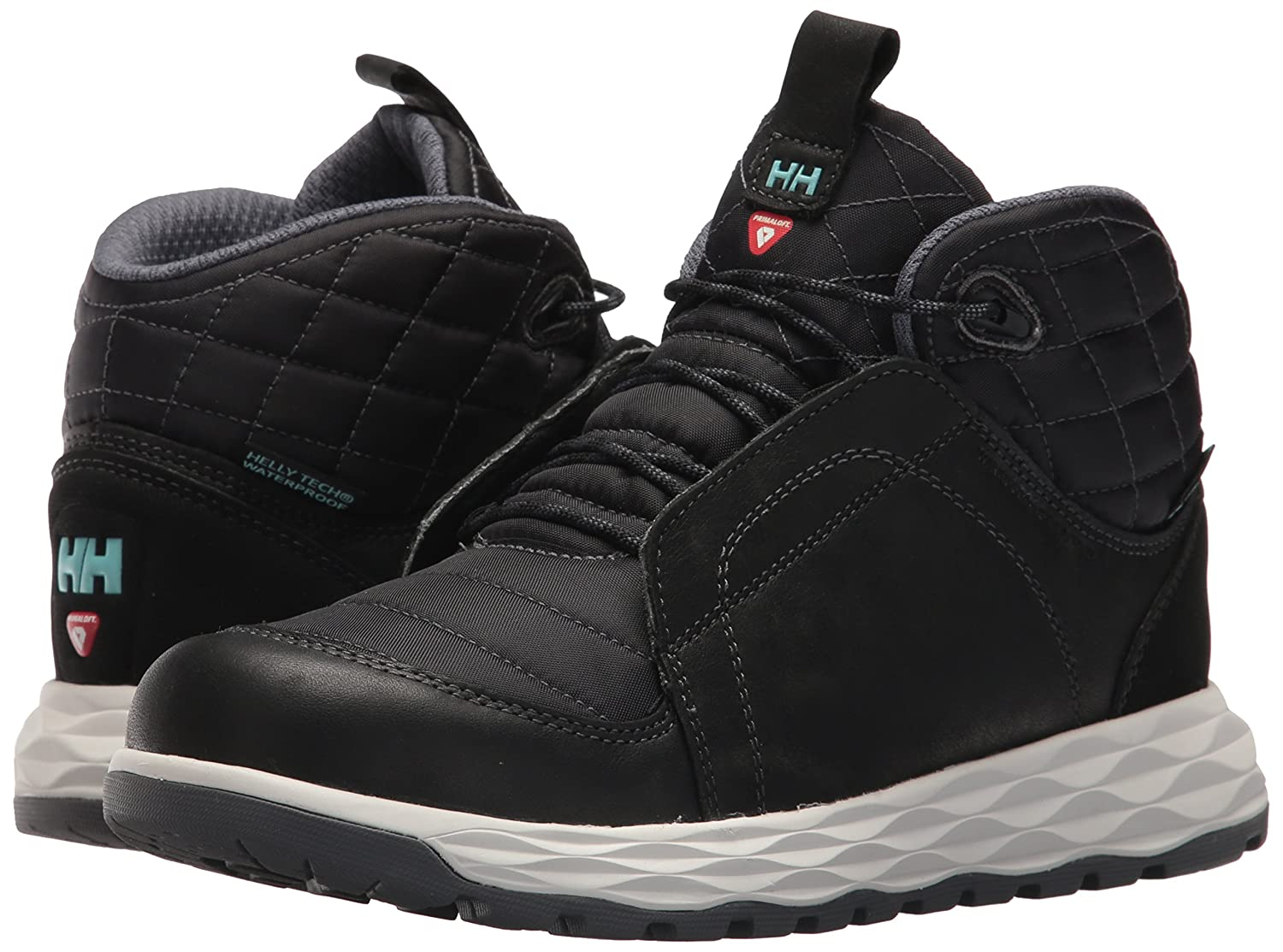 Helly Hansen Women's Ten-Below HT Insulated Winter Sneaker B01MUVGJR4 6 B(M) US|Black/Charcoal/Glacier
